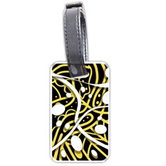 Yellow movement Luggage Tags (One Side)