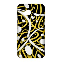 Yellow movement HTC Droid Incredible 4G LTE Hardshell Case