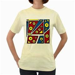 Life is beautiful Women s Yellow T-Shirt