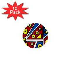 Life is beautiful 1  Mini Buttons (10 pack)