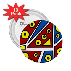 Life is beautiful 2.25  Buttons (10 pack)