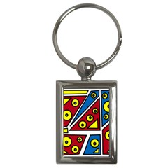 Life is beautiful Key Chains (Rectangle)