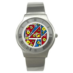 Life is beautiful Stainless Steel Watch