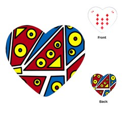 Life is beautiful Playing Cards (Heart)