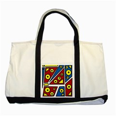 Life is beautiful Two Tone Tote Bag