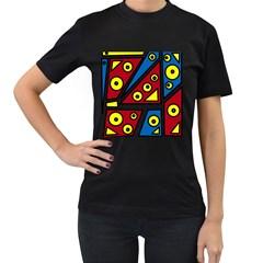 Life is beautiful Women s T-Shirt (Black)
