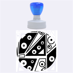 Life is beautiful Rubber Round Stamps (Large)