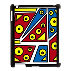 Life is beautiful Apple iPad 3/4 Case (Black)