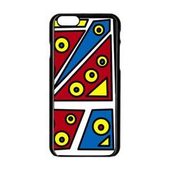 Life is beautiful Apple iPhone 6/6S Black Enamel Case