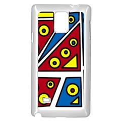 Life is beautiful Samsung Galaxy Note 4 Case (White)