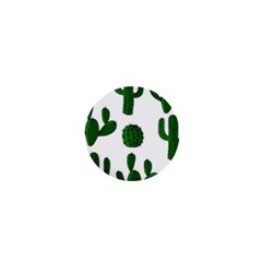 Cactuses pattern 1  Mini Buttons