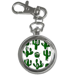 Cactuses pattern Key Chain Watches