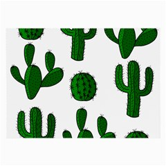 Cactuses pattern Large Glasses Cloth