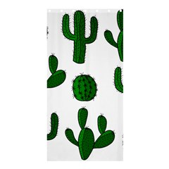 Cactuses pattern Shower Curtain 36  x 72  (Stall)