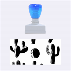 Cactuses pattern Rubber Stamps (Medium)