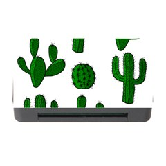 Cactuses pattern Memory Card Reader with CF