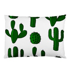 Cactuses pattern Pillow Case (Two Sides)