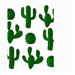 Cactuses pattern Large Garden Flag (Two Sides)