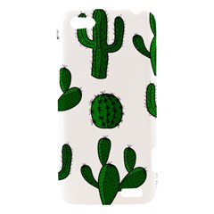 Cactuses pattern HTC One V Hardshell Case