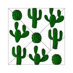 Cactuses pattern Acrylic Tangram Puzzle (6  x 6 )