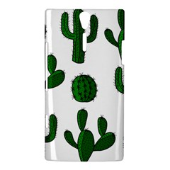 Cactuses pattern Sony Xperia S