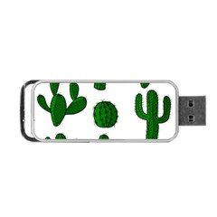 Cactuses pattern Portable USB Flash (Two Sides)