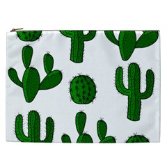 Cactuses pattern Cosmetic Bag (XXL)