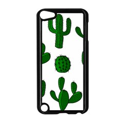 Cactuses pattern Apple iPod Touch 5 Case (Black)