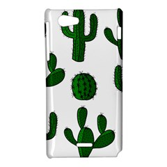 Cactuses pattern Sony Xperia J