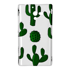 Cactuses pattern Sony Xperia ZL (L35H)