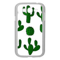 Cactuses pattern Samsung Galaxy Grand DUOS I9082 Case (White)