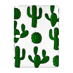 Cactuses pattern Samsung Galaxy Note 10.1 (P600) Hardshell Case