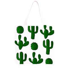 Cactuses pattern Grocery Light Tote Bag