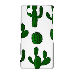 Cactuses pattern Sony Xperia Z3 Compact