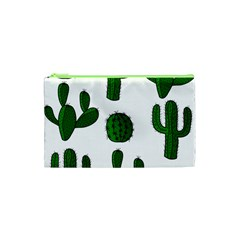 Cactuses pattern Cosmetic Bag (XS)