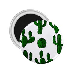 Cactuses pattern 2.25  Magnets