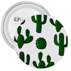 Cactuses pattern 3  Buttons