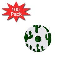 Cactuses pattern 1  Mini Buttons (100 pack)