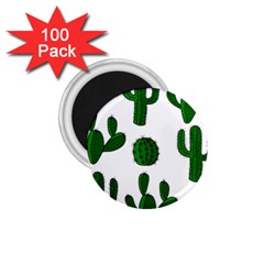 Cactuses pattern 1.75  Magnets (100 pack)