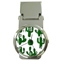 Cactuses pattern Money Clip Watches