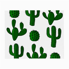 Cactuses pattern Small Glasses Cloth (2-Side)