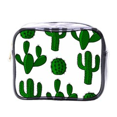 Cactuses pattern Mini Toiletries Bags