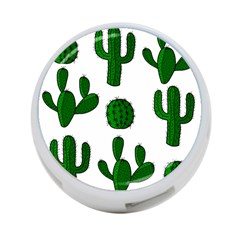 Cactuses pattern 4-Port USB Hub (Two Sides)