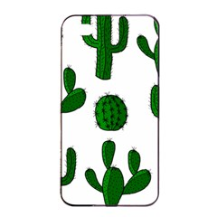 Cactuses pattern Apple iPhone 4/4s Seamless Case (Black)