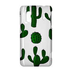 Cactuses pattern HTC Evo Design 4G/ Hero S Hardshell Case