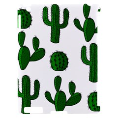 Cactuses pattern Apple iPad 2 Hardshell Case (Compatible with Smart Cover)