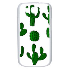 Cactuses pattern Samsung Galaxy S III Case (White)