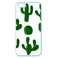 Cactuses pattern Apple Seamless iPhone 5 Case (Color)