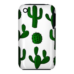 Cactuses pattern Apple iPhone 3G/3GS Hardshell Case (PC+Silicone)
