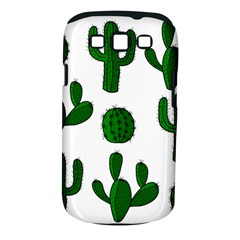 Cactuses pattern Samsung Galaxy S III Classic Hardshell Case (PC+Silicone)